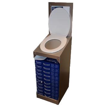 DWN017 - Korver wc brillen display