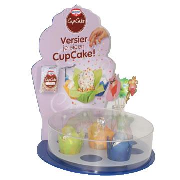 DWN054 - Dr Oetker cupcake display